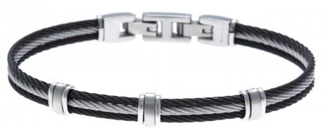 Bracelet acier - 3 cables...